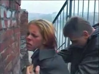 Amateur Clothed German MILF Outdoor Pain