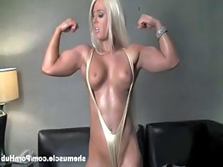 Amazing Blonde Muscled