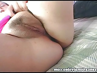 BBW Close up Hairy Pussy Wife