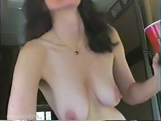 Brunette Mature Natural Public SaggyTits
