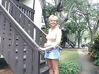 Blonde Jeans Mature Mom