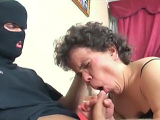 Blowjob Clothed Mature Midget
