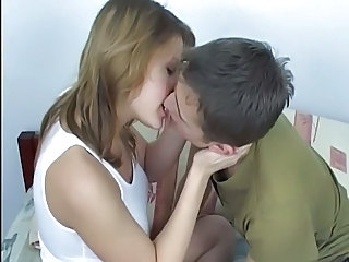 Kissing MILF Wife