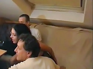 Amateur Brunette German Groupsex Swingers