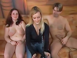 Chubby German Groupsex