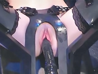 Machine Pussy Shaved Stockings Toy