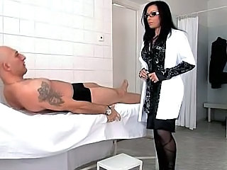 Amazing Brunette Doctor MILF