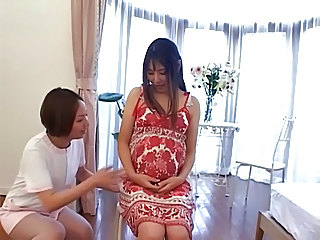 Asian Japanese Pregnant