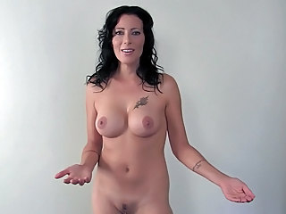 Brunette Mature Nudist