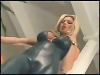 Store bryster Blond Latex