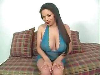Amazing Big Tits Brunette Latina Lingerie Long hair Natural