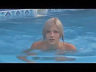 Blonde Cute Pool Softcore Teen
