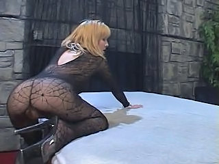 Amazing Ass Fishnet Squirt