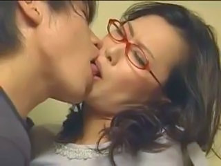 Glasses Japanese Kissing Mature