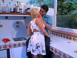 Amazing Ass Blonde French Kissing Vintage