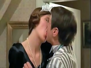 Danish maid gets seduced hard by bigwig and gets cock in mouth and pussy