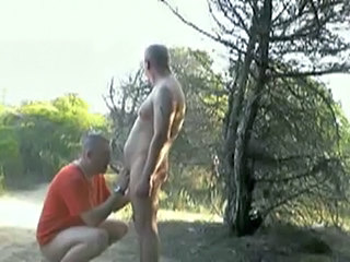 Gay Man Outdoor