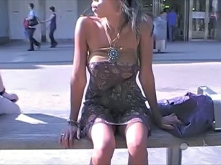 Amateur Asian Outdoor Public