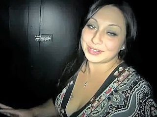 Gloryhole Latina MILF Swallow