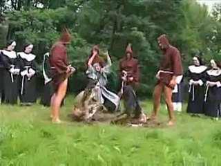 Gangbang Groupsex Nun Orgy Outdoor Uniform