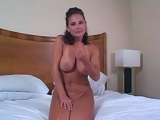 Big Tits Brunette Natural Pov