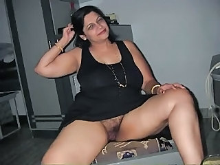 Amateur Amazing Brunette Hairy Indian Mature Natural