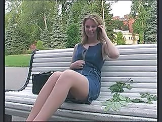 Outdoor Teen Upskirt
