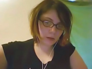 Glasses Goth Webcam