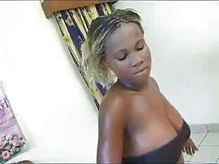 Cute Ebony Natural Teen