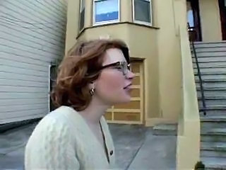 Glasses Hairy Outdoor Public Redhead