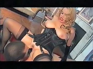 Big Tits Blonde Facesitting Lingerie Licking Pornstar Stockings