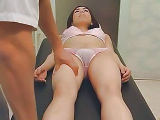Amateur Asian Lingerie Massage