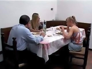Amateur European Family French Threesome