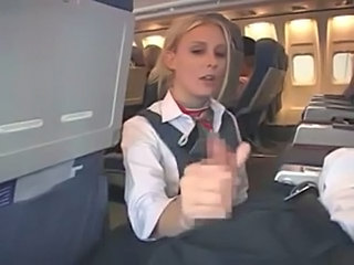 Amateur Blonde Handjob Public Uniform