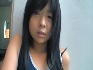 Asian Cute Outdoor Teen