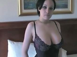 Amazing Big Tits Brunette Pornstar