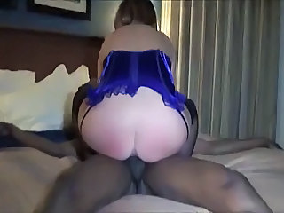 Amateur Homemade Interracial MILF