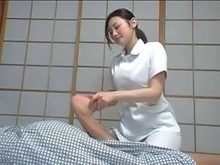 Asian Feet Massage Teen