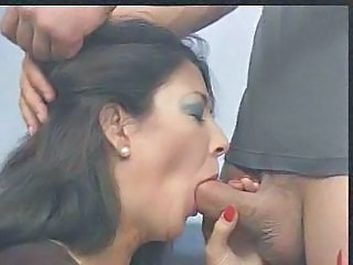Blowjob Brunette Handjob Mature