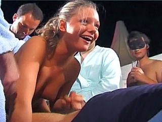 Amateur Gangbang German Party