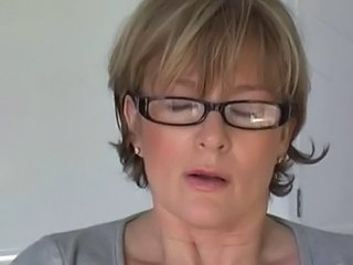 Glasses Mature Orgasm