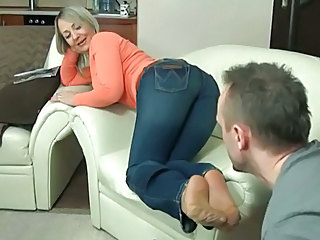 Blonde Feet Jeans Mature