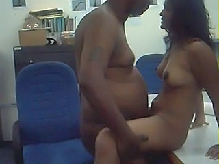 Amateur Ebony Indian Secretary