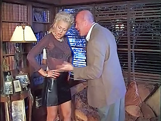 Blonde MILF Pornstar Skirt