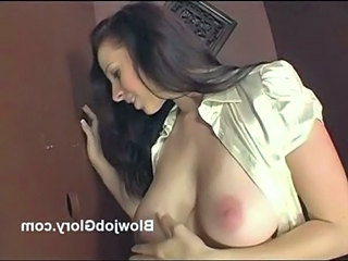 Big Tits Brunette Gloryhole Teen