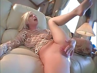Big Tits Blonde Clit Masturbating MILF Pussy Shaved Squirt
