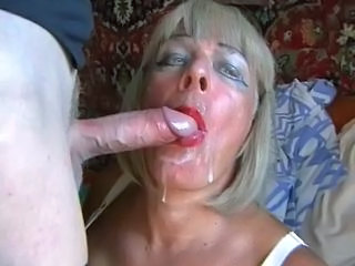 Amateur Blonde Cumshot Facial Mature Russian