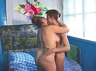 Kissing Mature Russian