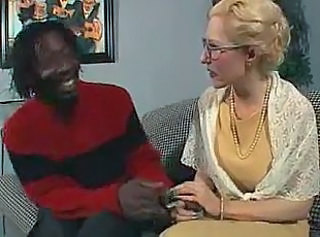 Glasses Interracial Mature