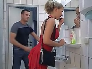 Anal Bathroom German Swallow